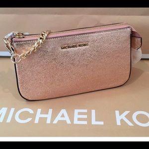 Michael Kors Soft Pink Clutch